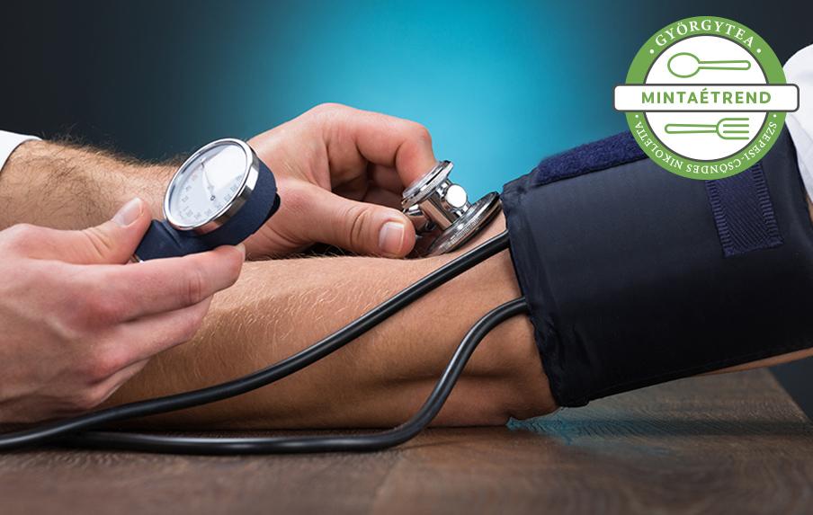 amikor magas vérnyomás mit kell enni arthritis hipertónia kezelése