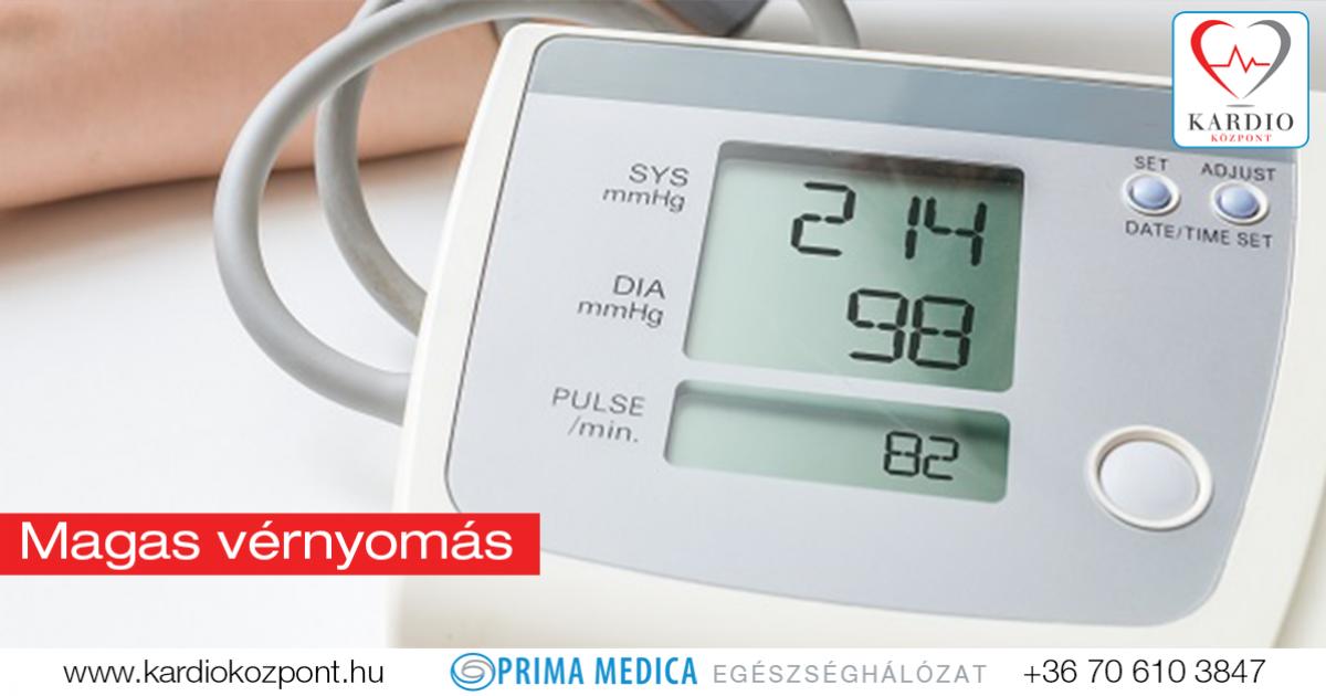 magas vérnyomás mi ez a betegség