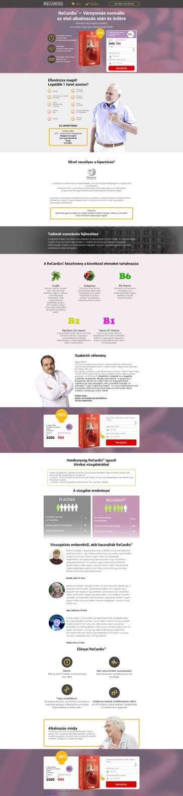magas vérnyomás kezeléssel foglalkozó weboldal információs vélemények