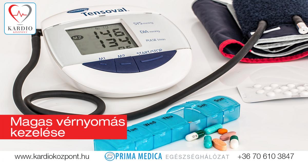 a magas vérnyomás helyének kezelése