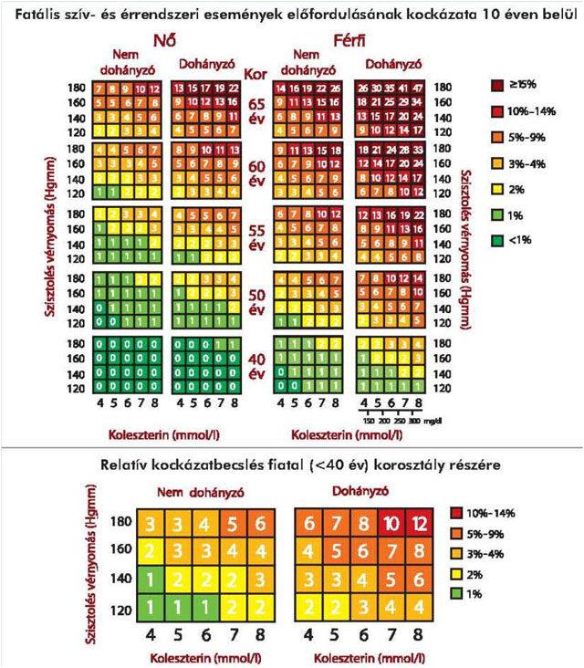magas vérnyomás koleszterin