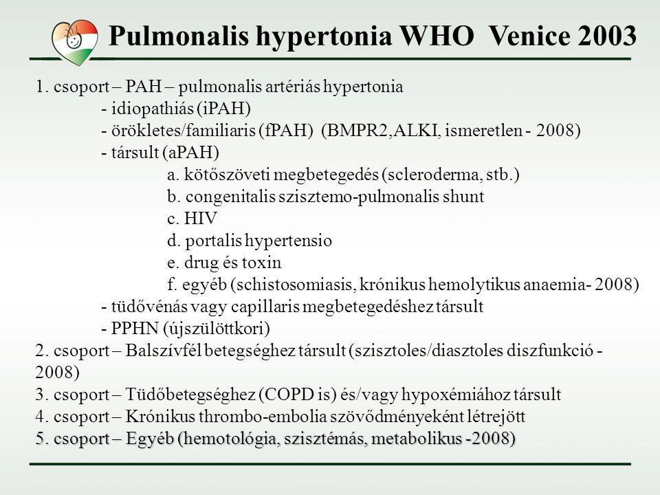 pulmonalis hipertónia 2