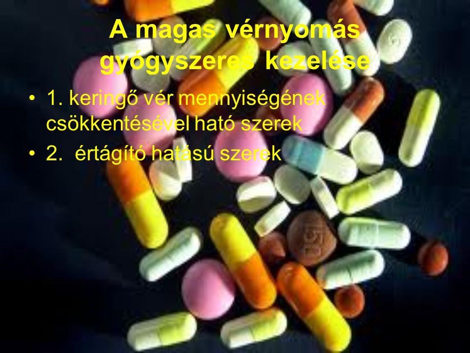 gyógyszerek szedése 2 fokú magas vérnyomás esetén a hipertónia legjobb népi gyógymódja