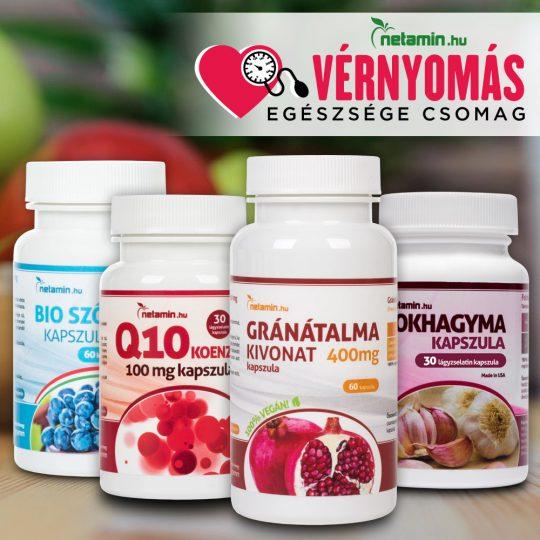 vitaminok magas vérnyomás kezelésére