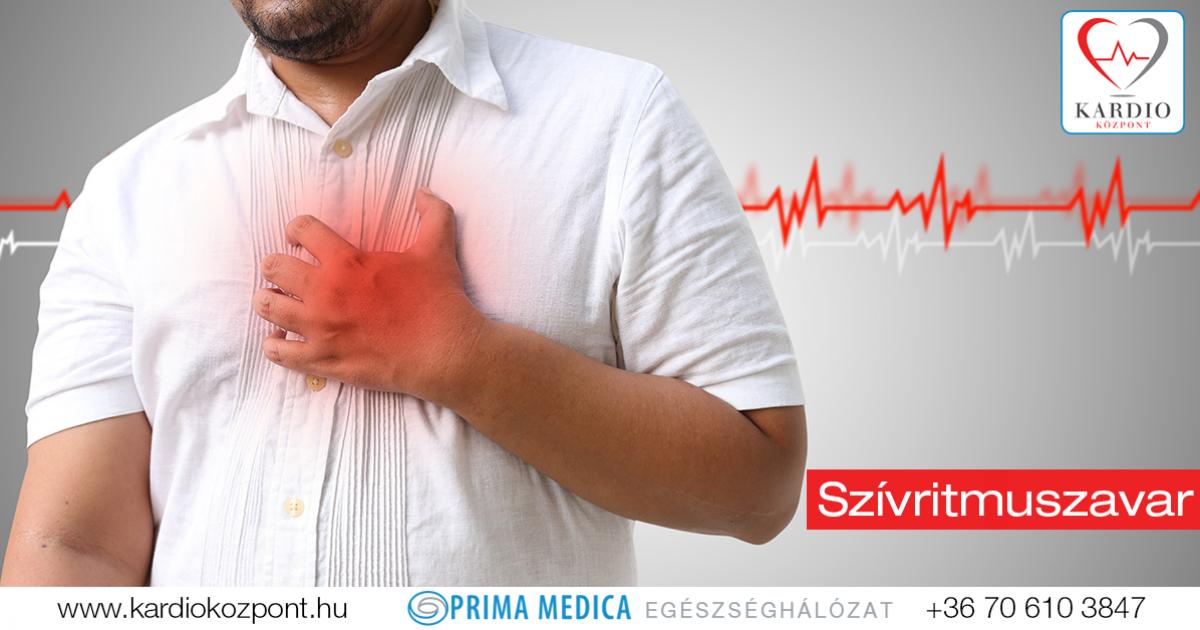 magas vérnyomás nélküli aritmia