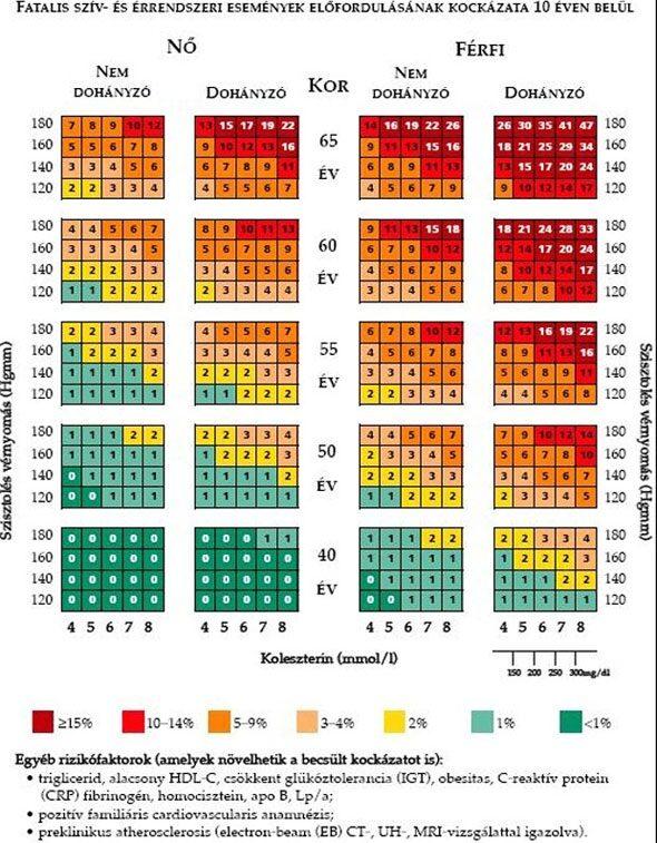magas vérnyomás-gátlók magas vérnyomás normatív